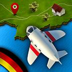 德国地理飞行游戏